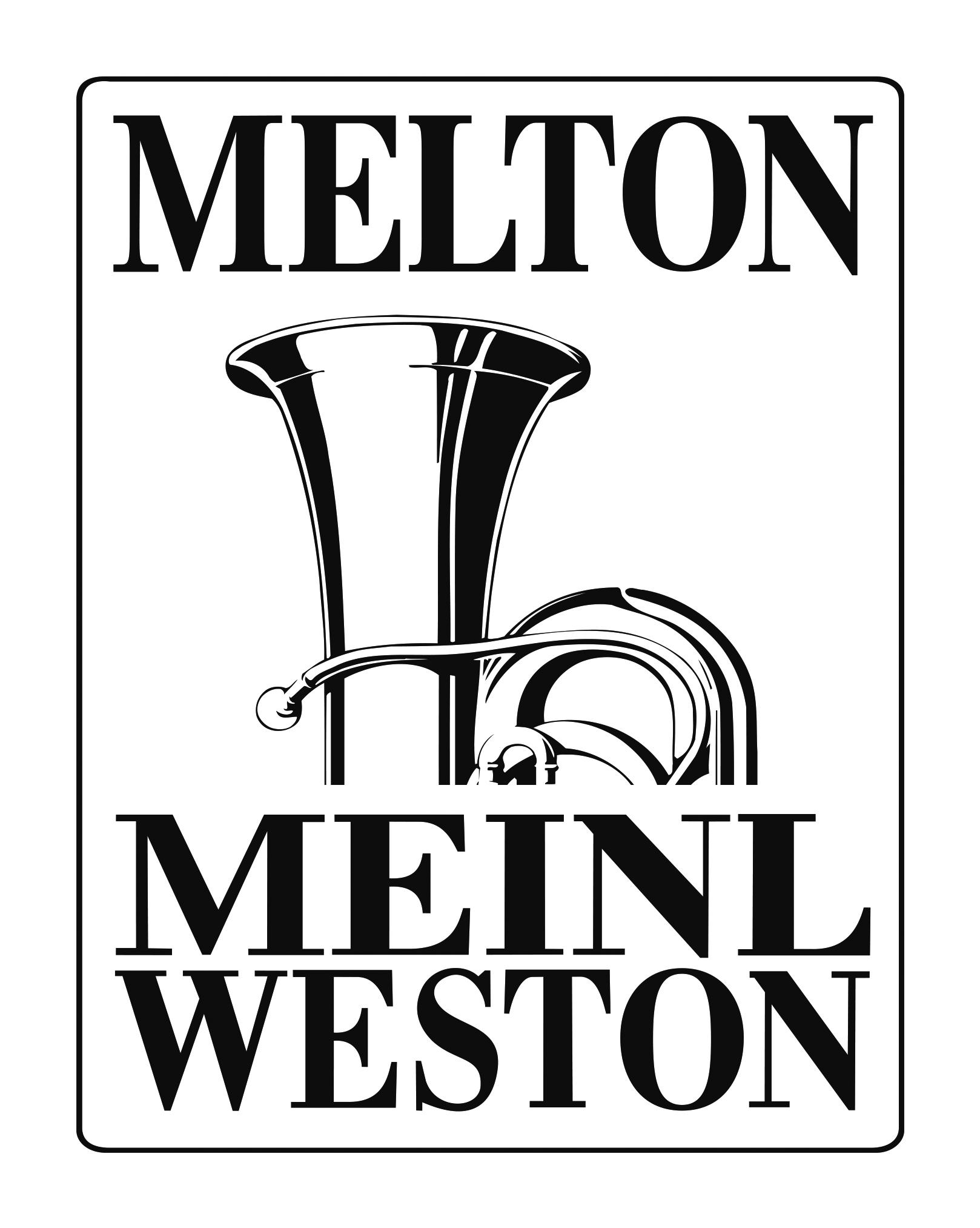 〈メルトン・マイネル・ウェストン〉ロゴ